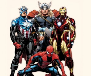 avengers+spidey