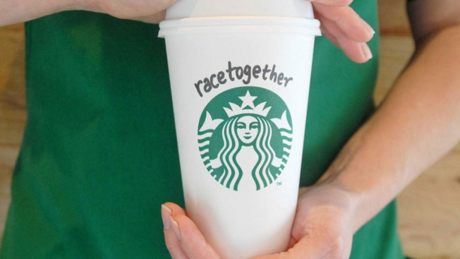 Starbucks' insidious #RaceTogether cup