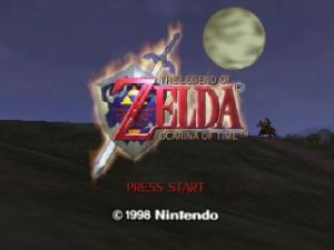 Legend of Zelda, The - Ocarina of Time (U)
