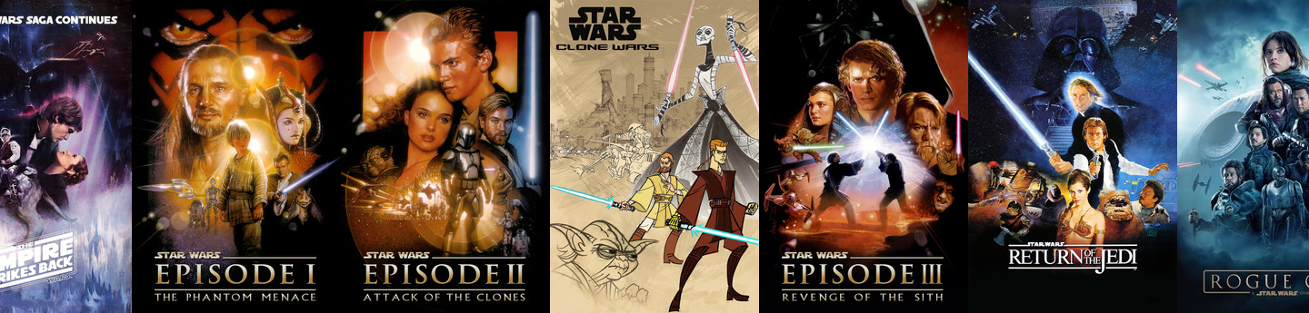 The Flashback Order: Updated and Expanded! (Star Wars Day