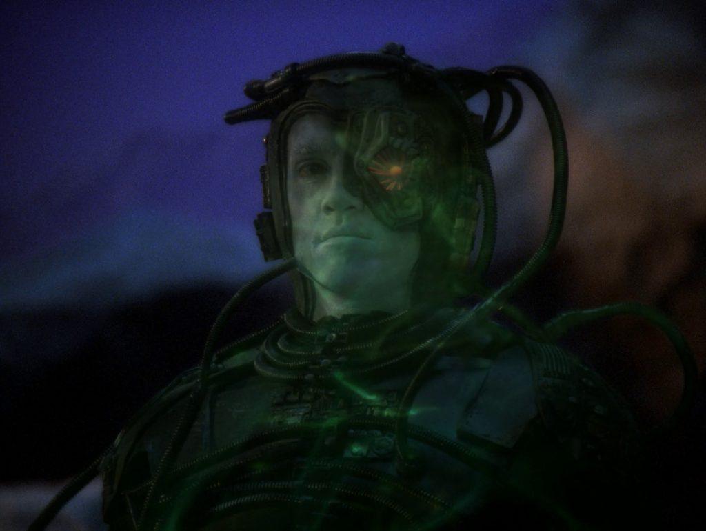 Trektember 18 - I, Borg - Hugh & the look