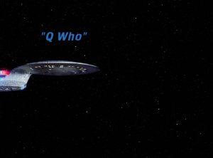 Trektember 4 - Q Who - Title Screen