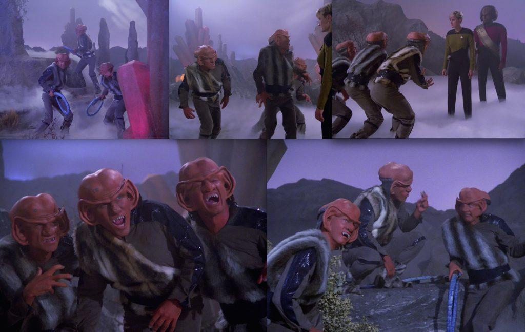 Ferengi - Dance!  Dance, won't you!