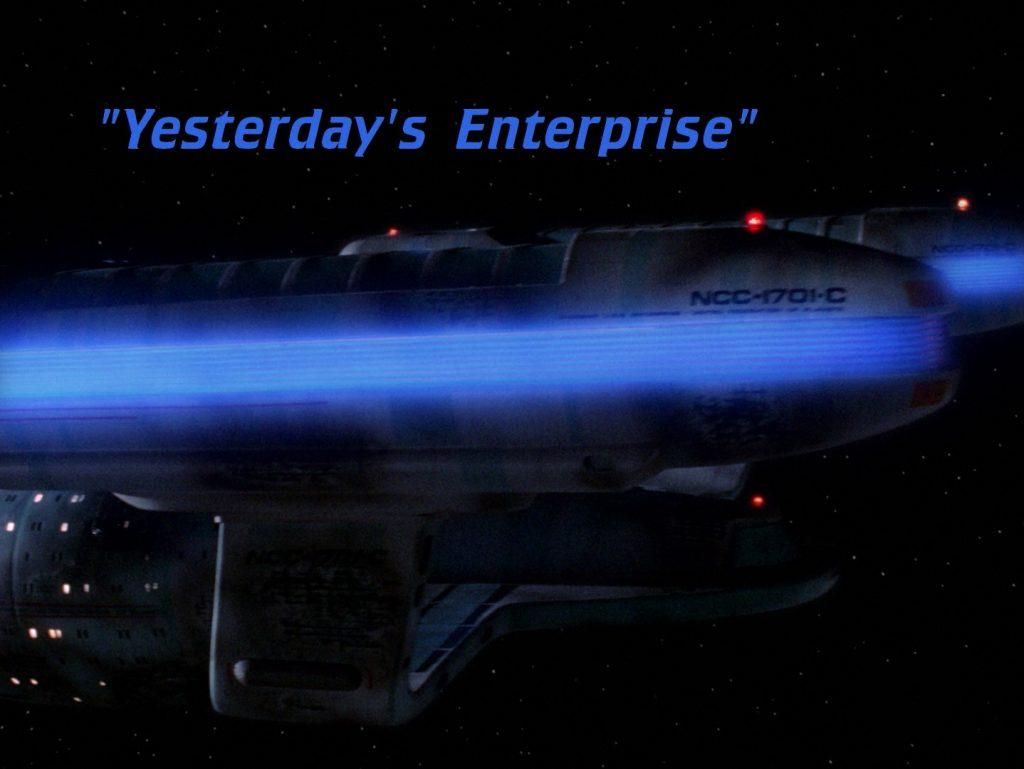 Trektember 7 - Yesterday's Enterprise - Title screen