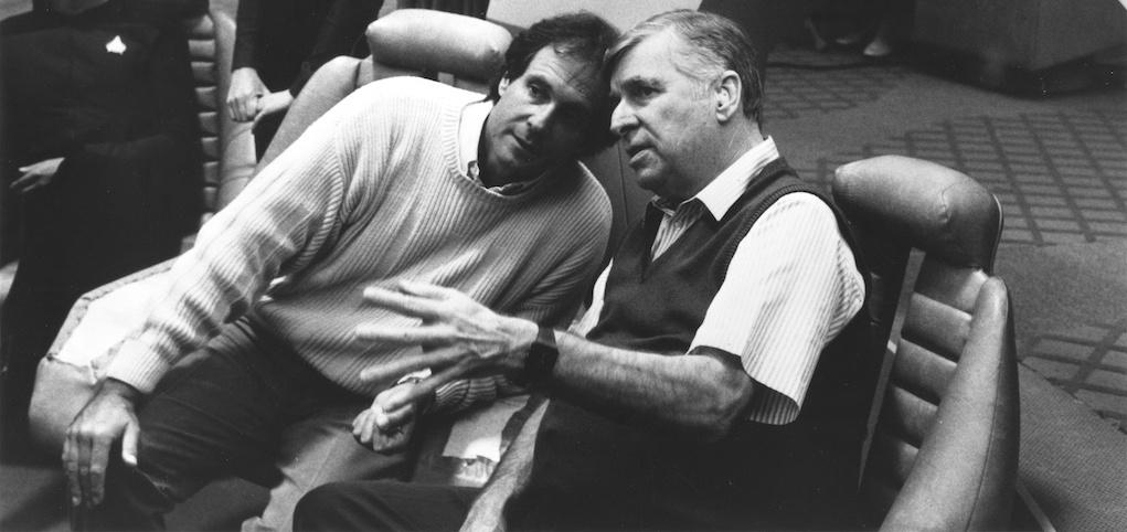 Rick Berman & Gene Roddenberry