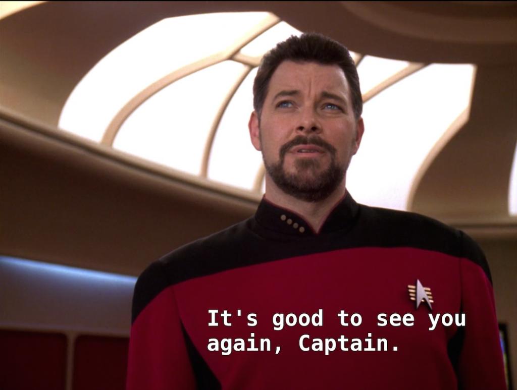 Trektember 25 - Parallels - Riker & Picard