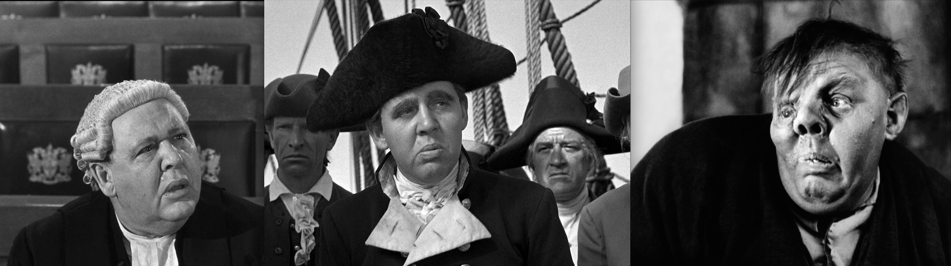 Charles Laughton, director of Night of the Hunter