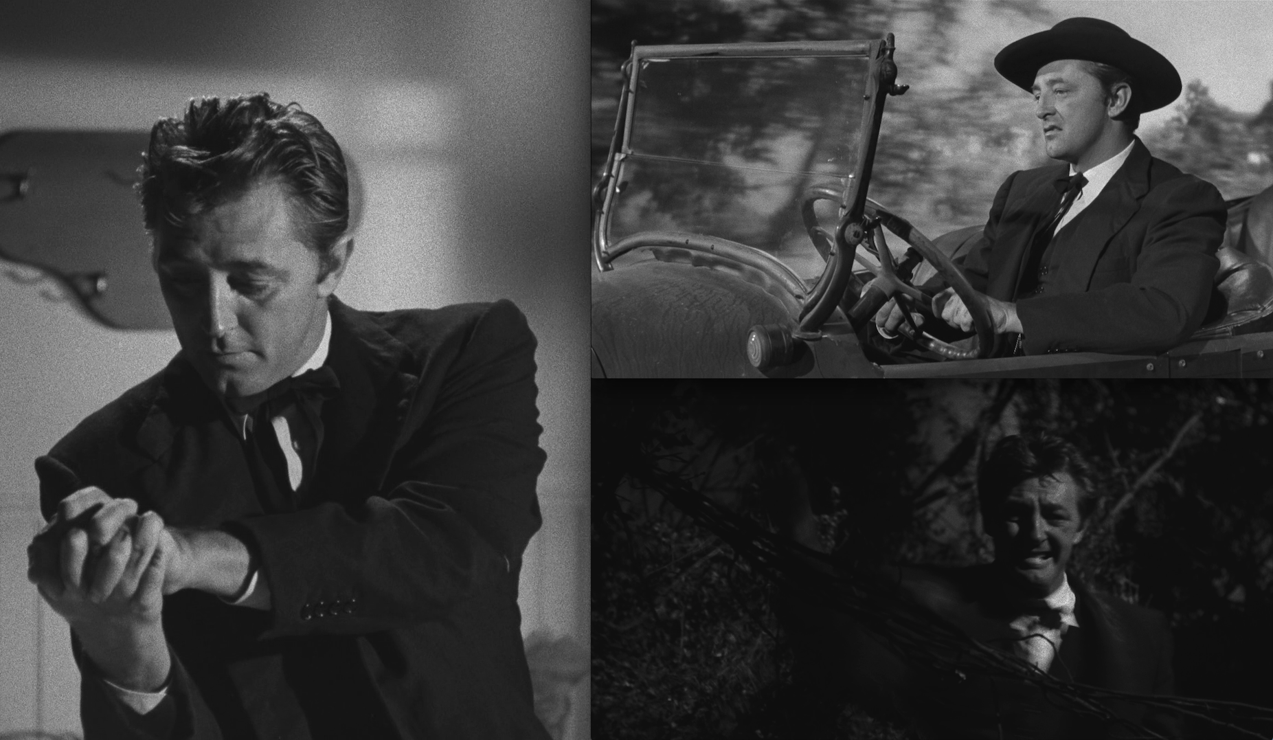 Harry Powell the fake, in Night of the Hunter
